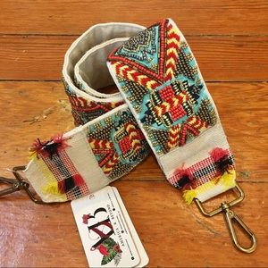 NWT • Navajo Group • Guitar Strap • 100% cotton •
